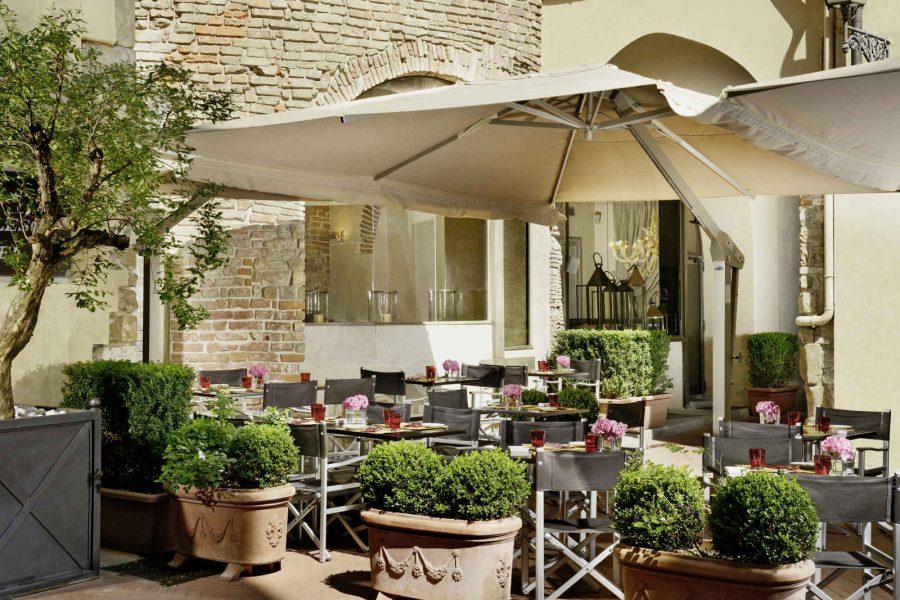Restaurant Osteria della Pagliazza, Hotel Brunelleschi, Florence