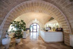 Réception, hôtel Masseria Caselli, Carovigno, Pouilles, Italie