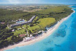 Vu aérienne, VOI Alimini Resort, Otranto, Italie