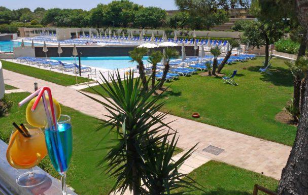 Piscine, VOI Alimini Resort, Otranto, Italie