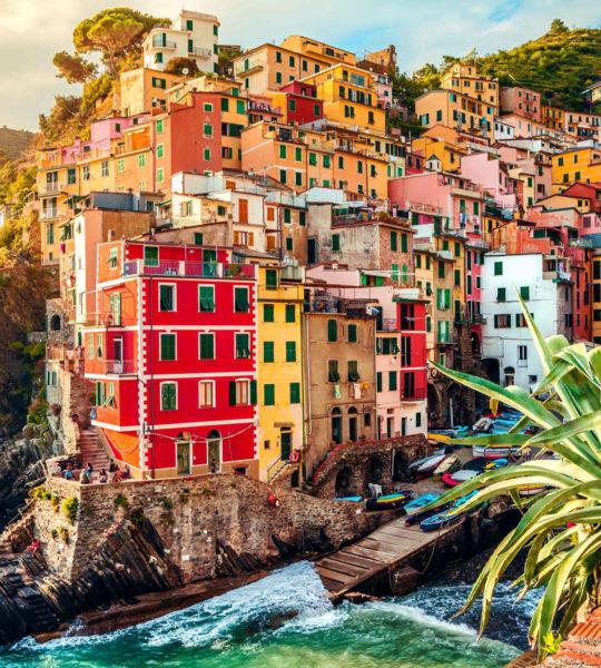 Riomaggiore, Cinque Terre, Lingurie, Italie
