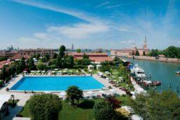 Piscine, Belmond Hotel Cipriani, île de la Giudecca, Venise, Itlaie