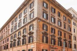 Vue extérieure, Hôtel Kennedy, Rome, Italie
