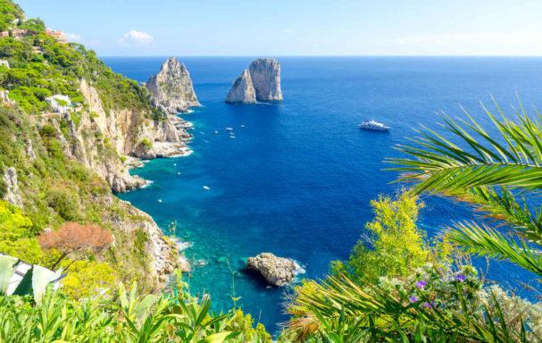 Rochers Faraglioni, Capri, Italie
