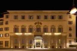 Façade, Grand Hotel Villa Medici, Florence
