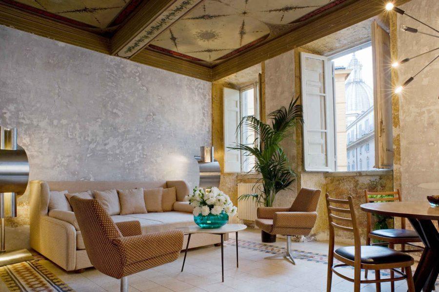 G-Bar; hôtel G-Rough, Rome, Latium, Italie