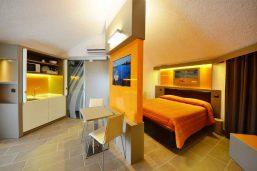 Bungalow supérieur, hôtel Calanica Resort, Cefalù, Sicile, Italie