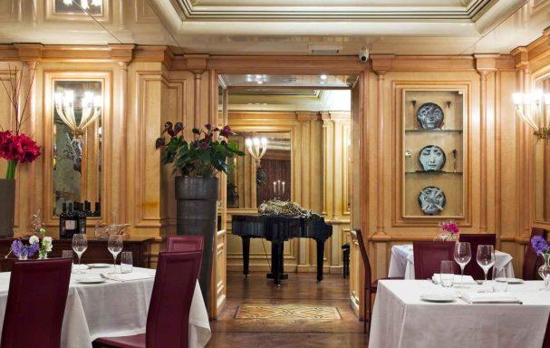 Piano-bar, Hotel Valadier, Rome, Italie