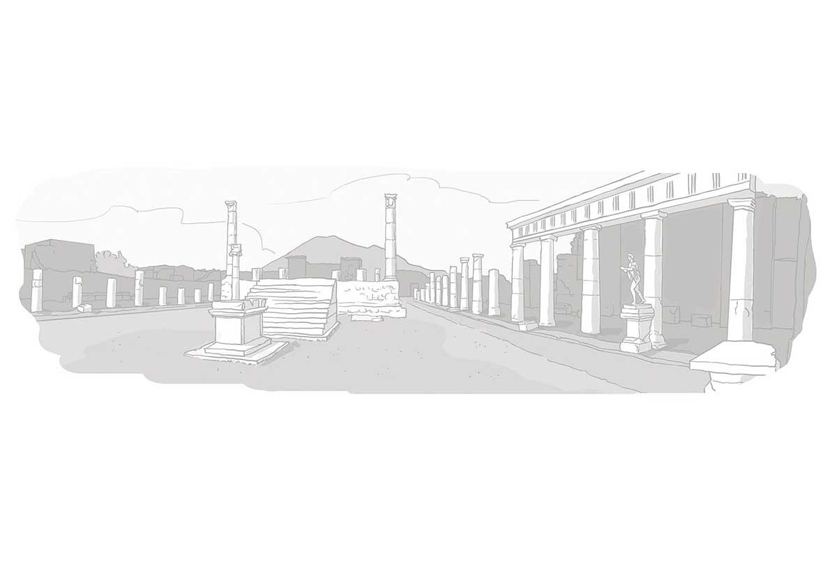 Voyage Pompei