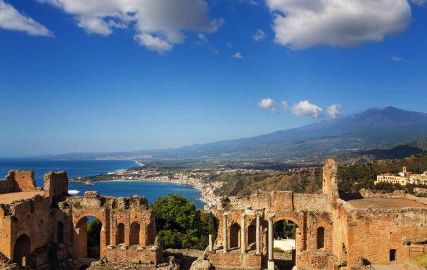 Taormine, Sicile, Italie