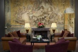 Réception, hôtel Bernini Bristol, Rome
