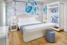 Cosy room, Hotel Ausonia Hungaria, Lido, Venise, Italie