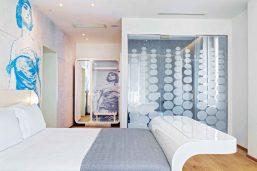 Deluxe Double room, Hotel Ausonia Hungaria, Lido, Venise, Italie