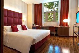 Chambre, Enterprise Hotel, Milan, Italie