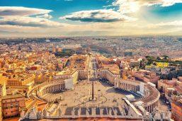 Place St Pierre, Vatican, Italie