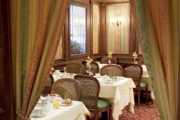 Restaurant, hôtel Palazzo Sant'Angelo, Venise, Italie