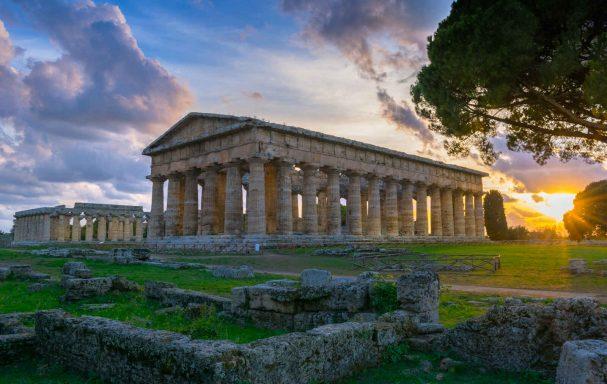 Temples de Neptune et d'Hera