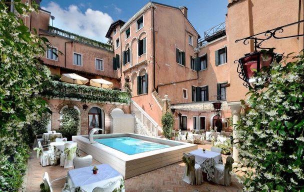 Piscine, Hotel Giorgione, Venise, Italie